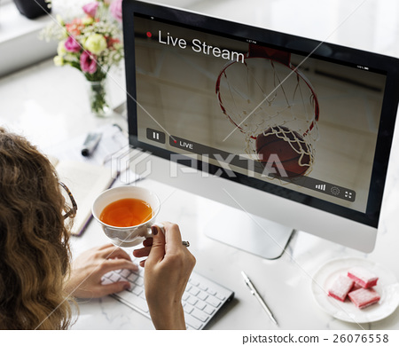 Live Stream Video Multimedia Concept 26076558