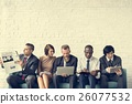 Business People Data Information Technology Concept 26077532