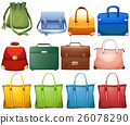 Different design of handbags 26078290