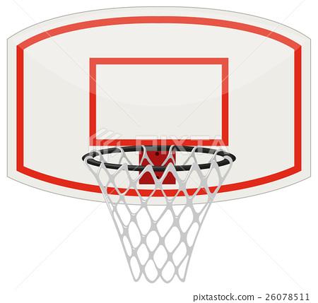 Basketball net and hoop 26078511