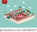 beautiful design vector of moscow russia 26080207
