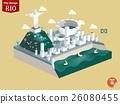 isometric design concept of rio de janeiro brazil 26080455