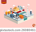isometric design concept of tokyo city japan 26080461