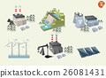 set of different power plant graphics design 26081431
