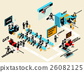 isometric design of airport terminal departure 26082125