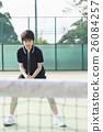 網球 運動 準備使用 26084257