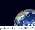 地球儀 土地 土 26088777
