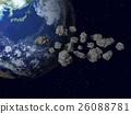 지구 (소행성, 운석, 우주 먼지) 등의 이미지 26088781