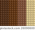 Dark and white chocolate bar background 26090600