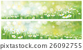 Vector nature backgrounds. 26092755