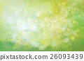 Vector  nature background. 26093439