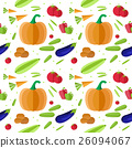 pattern, vector, vegetable 26094067
