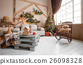 Calm image of interior modern home living room 26098328