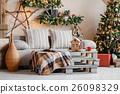 Calm image of interior modern home living room 26098329