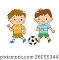 足球 英式足球 男孩 26099344