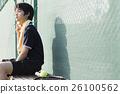 网球 运动 休息 26100562