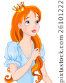 Red Haired Princess 26101222
