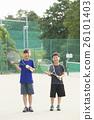 网球 运动 小孩 26101403