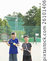 网球 运动 微笑 26101406