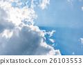 blue sky with cloud 26103553