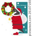 企鵝 聖誕老人 聖誕老公公 26107160