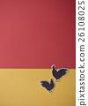 닭, 연하장 소재, 연하장 콘텐츠 26108025