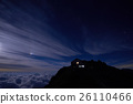 mountain, night, sky 26110466