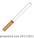cigarette vector on a white background 26111651