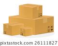 a brown cardboard box 26111827