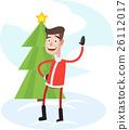 Funny Stylish Santa 26112017