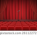 curtain, seat, show 26112272