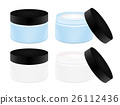 cosmetic tubes on white background 26112436