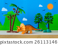 Triceratops toy model on wild models background 26113146