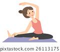 瑜伽 瑜珈 伸展 26113175