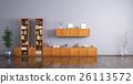 Modern living room interior 3d rendering 26113572