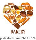 麵包房 麵包 向量 26117776