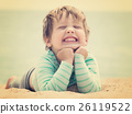 Happy laughing baby girl 26119522