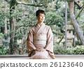 穿著和服 日式服裝 和服 26123640