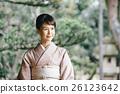 일본 옷, 기모노, 여성 26123642