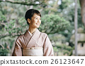 穿著和服 日式服裝 和服 26123647