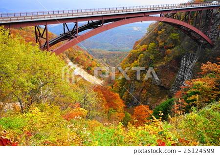 October Bandai Azuma Skyline 01 Masuzawa Bridge Tsubakuro Valley 26124599