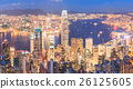 Hong Kong skyline at night 26125605