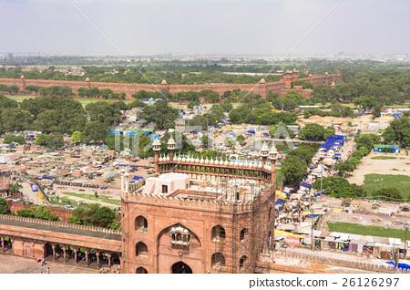Delhi's Jammer Masjid Mosque 26126297
