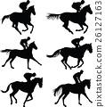 horse and jockey 26127163