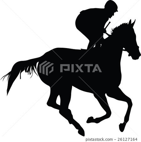 horse and jockey 26127164