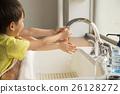 Children's hand wash image 26128272