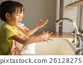 Children's hand wash image 26128275