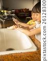 Children's hand wash image 26128300