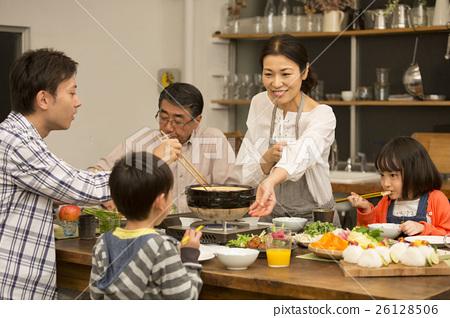 냄비 요리 저녁 식사 이미지 26128506