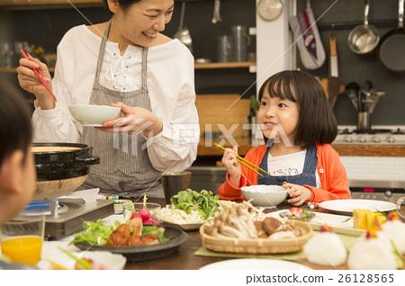 Nabe烹饪晚餐形象 26128565
